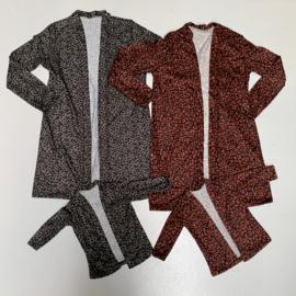 Autumn vest (Mommy & me)
