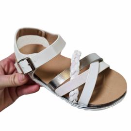 White Girly sandals