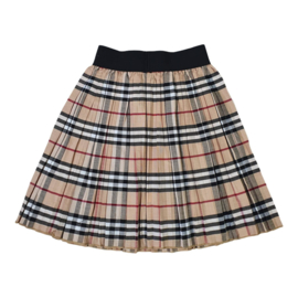 Color blocked skirt