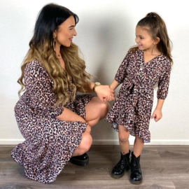 Leopard dress - Mommy & me