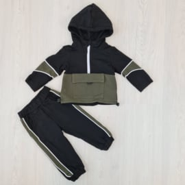 Baby colored set - green