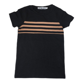 Stripe up my chest tee