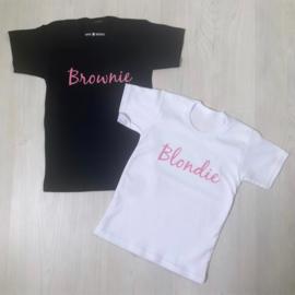 Pink blondie & brownie