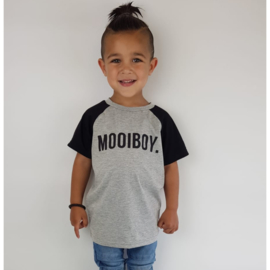 Black & Grey mooiboy tee