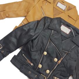 Gold & Leather jacket