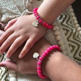 Twinning beads bracelet