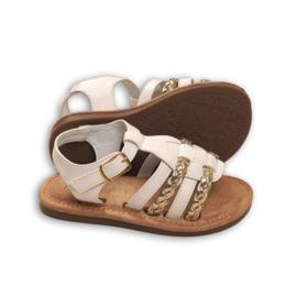 White & Braids sandals