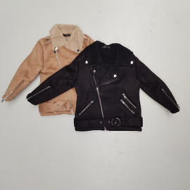 Teddy biker jacket