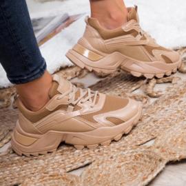 Basic camel chunky sneaker