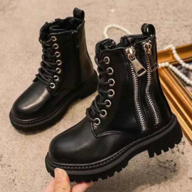 Zipped up boots