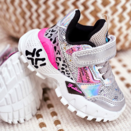 Pink Glitter to the max sneaker