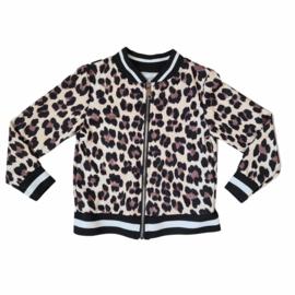 Brown leopard Jacket (Stripes)
