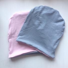 Pink/Silver Glitter beanie