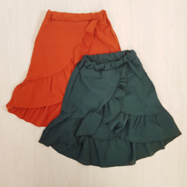 Ruffled summer skirt