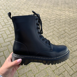 Everything black boots