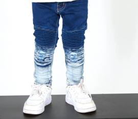 Blue Washed skinny jeans