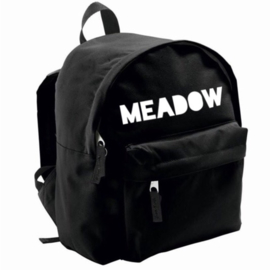 Black basic backpack (gepersonaliseerd)