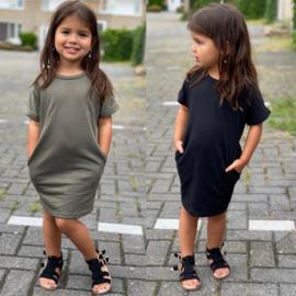 Baby basic pocket dress