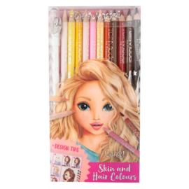 Huid & haarkleur potloden