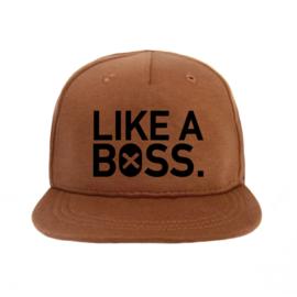 Cap Like A Boss - caramel