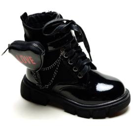 Shiny love boots