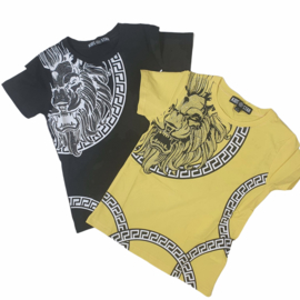 Black or Yellow tiger tee