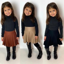 3 colors basic skirt