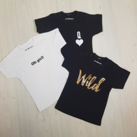 Queen + Oh girl + Wild Package  Shortsleeves