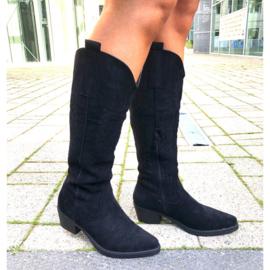 High cowboy boots