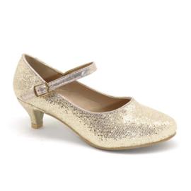 Dress me up glitter heels - Gold
