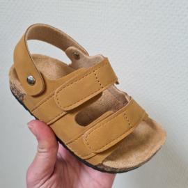 Basic sandals - camel