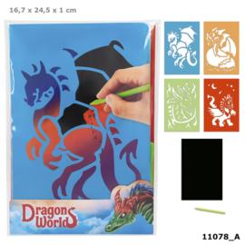 Dragon World Magic Scratch kaarten