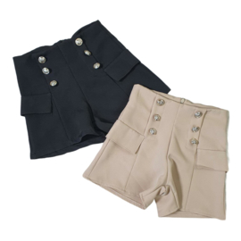 Classy buttoned short