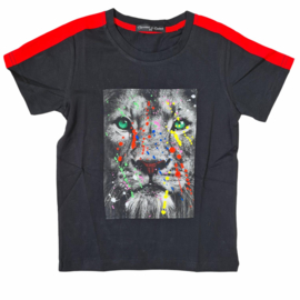Splatter lion tee