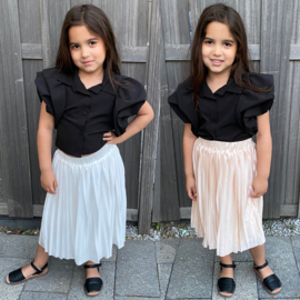 Summer pleated skirt