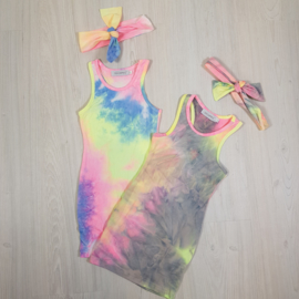 Tie dye dress &  Headband