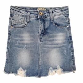 Not your basic denim skirt