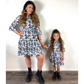 Flowers dress - Mommy & me