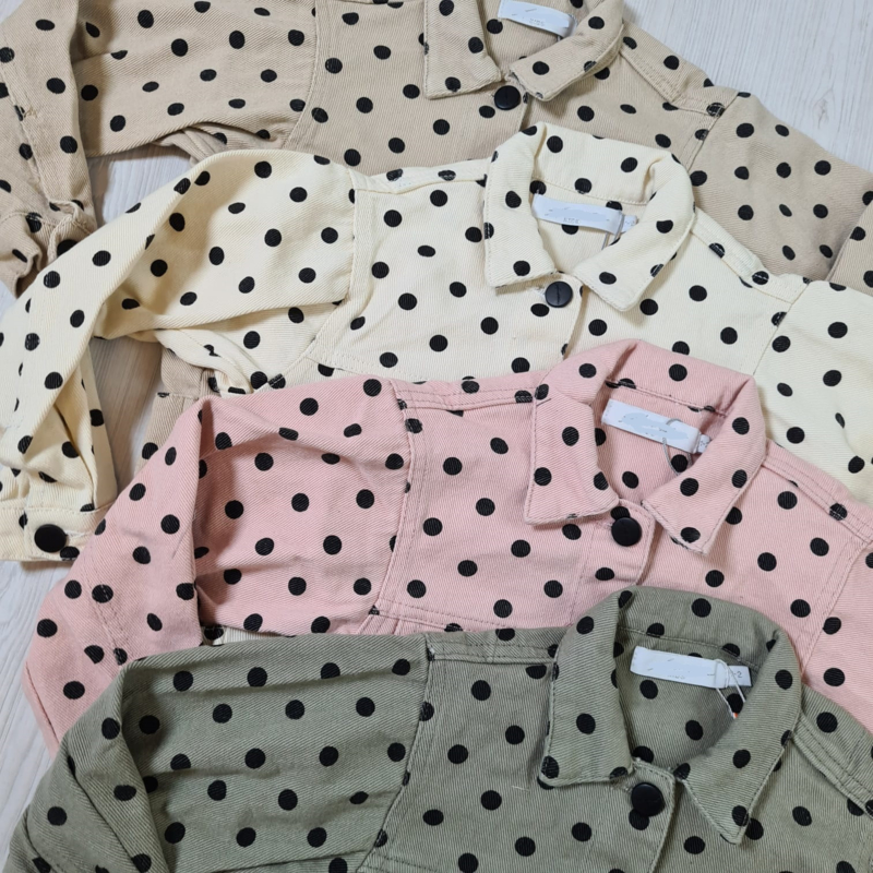 Dotted jacket | Jassen | Hippe Beebjes