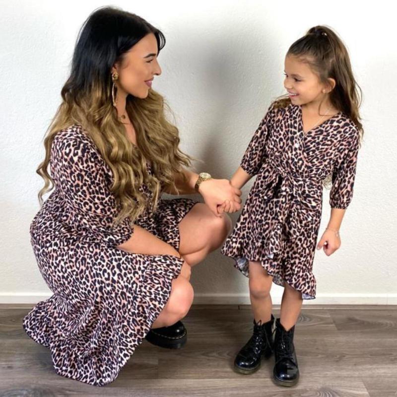 Leopard dress - Mommy & me
