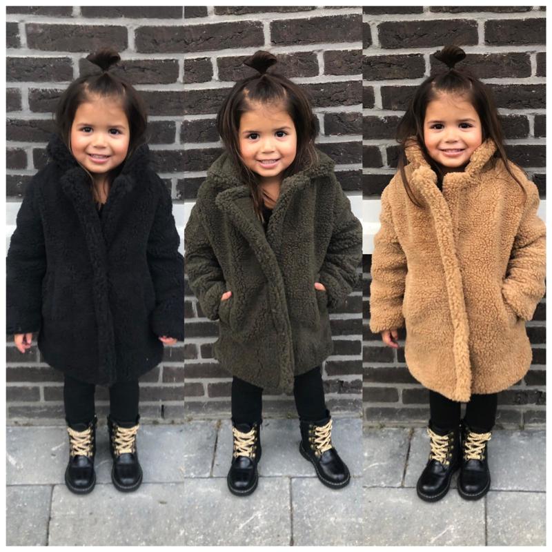 Teddy coat | Jassen | Hippe Beebjes