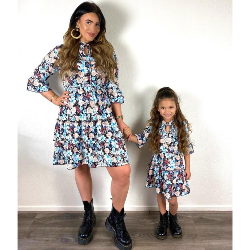 Flowers dress - Mommy & me