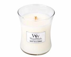 """WoodWick Jar Large  """"White Tea & Jasmine"""""""