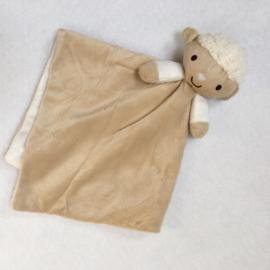 Knuffeldoekje schaap met of zonder naamborduring