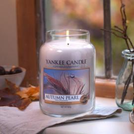 Yankee candle, Autumn pearl, Jar large
