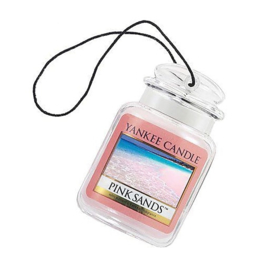 "Car Jar, Odour neutralising ""Yankee Candle"" Pink Sands"