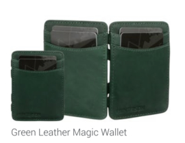"Magic Wallet ""Hunterson"" green + portemonnee"