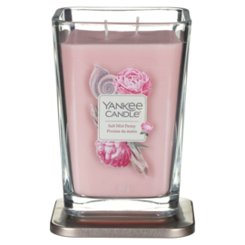 """Salt Mist Peony"" Yankee Candle, Elevation coll. large"