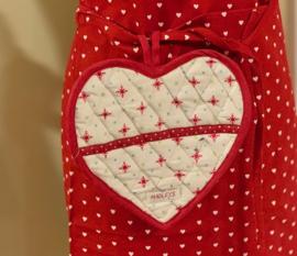 Hartvormig pannenlap