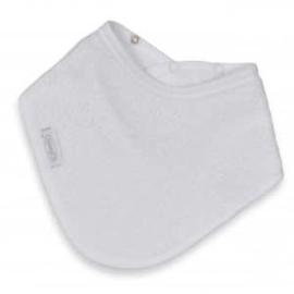 Bandana in spons wit met of zonder naamborduring